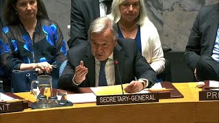 Partnerships must be strengthened to ensure success on Peacebuilding- UN chief to Security Council