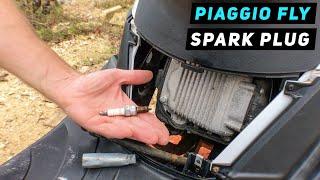 Smontare la candela del PIAGGIO FLY 150