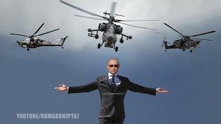 Russian Mil Mi-28 Attack Helicopter - Helicóptero de Ataque Russo Mil Mi-28