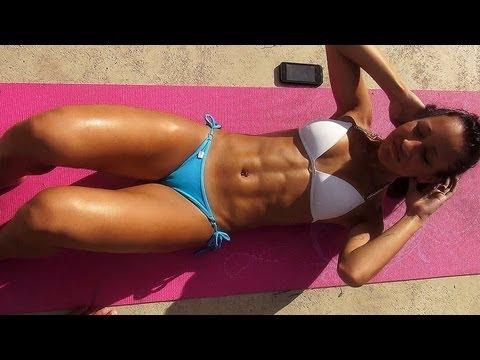 Crunches!! Sit-UPs!! 10 Minutes Sexy Bikini Abs Workout - UCfzp-VtceORLoJlX32OcbdA