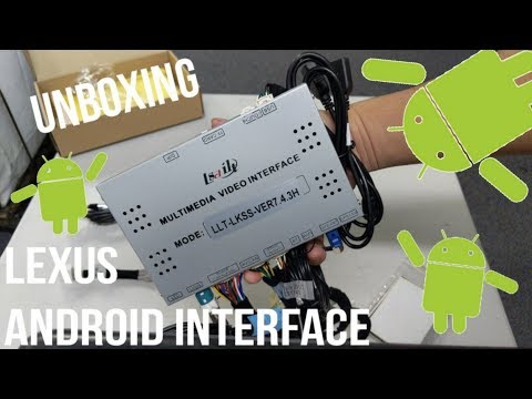 Lexus Android 6 0 Car Interface | Lsailt | Unboxing - VidVui