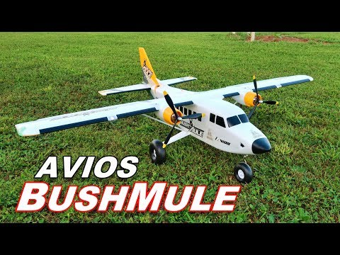 "Avios BushMule - Extremely Versatile BIG RC Cargo Plane - 1500mm 59"" - TheRcSaylors - UCYWhRC3xtD_acDIZdr53huA"