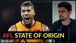 Reacting to AFL State of Origin Teams