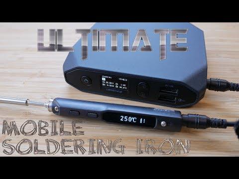 TS100 Soldering Iron, Custom Firmware & soldering tricks