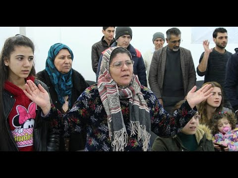 Syrian Kurds (sunni Muslims) open first Church in Kobani , Alleppo..(Subtitle)