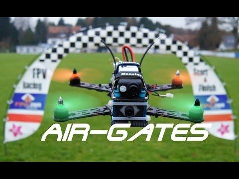 FPV Racing Air Gate Test + Rear Light - UCskYwx-1-Tl5vQEZ0cVaeyQ
