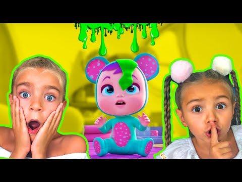 Youtube Las Ratitas Juegan Con La Nueva Casa De Bebes Llorones