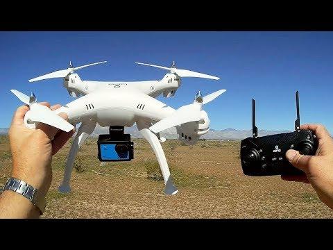 JJRC HY-90 Cheap GPS GoPro Lifting Drone Flight Test Review - UC90A4JdsSoFm1Okfu0DHTuQ