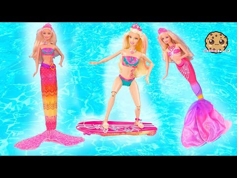 Transforming Mermaids ! Dolphin Magic Barbie Doll Sets Part 4 - UCelMeixAOTs2OQAAi9wU8-g
