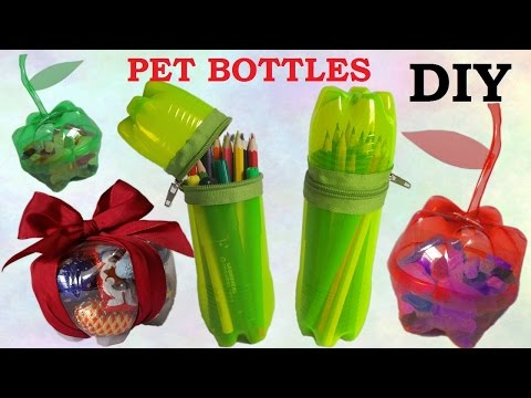 10 DIY Creative Ways to Reuse / Recycle Plastic Bottles part 1 - UCpjSSzpVwY4QTQt8Ea421PA