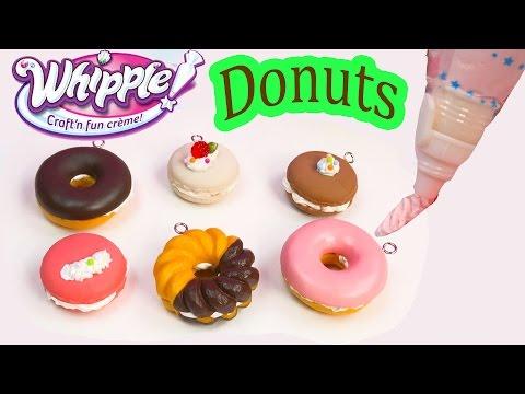 Whipple Craft N Fun Creme Desserts Donuts Macarons Food DIY Craft Toy Unboxing Fun - UCelMeixAOTs2OQAAi9wU8-g