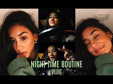CHILL Night Time Routine// VLOG - UCkRZ0ndauRGAgAxb4stK0TQ