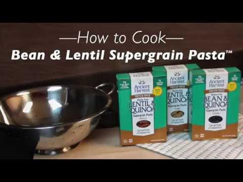 How To Cook: Bean & Lentil Supergrain Pasta