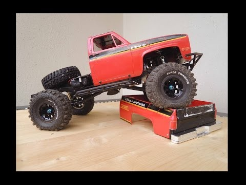 RC4WD TF 2 / Tamiya Clod Buster conversion with chopped bed - build video - UCfQkovY6On1X9ypKUr9qzfg