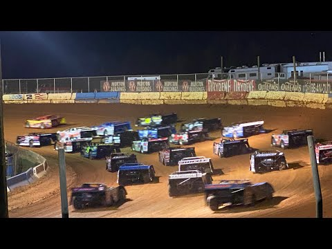 10/1/2021 Main World of Outlaws Late Models Cherokee Speedway - dirt track racing video image