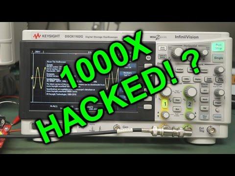 EEVblog #978 - Keysight 1000X Oscilloscope Hacked! - UC2DjFE7Xf11URZqWBigcVOQ