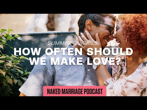 Summer Quickies: How Often Should We Make Love?
