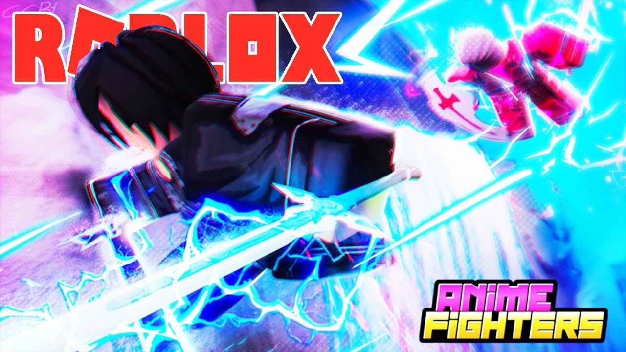 Roblox- UPDATE MỚi ANIME SWORD ART ONLINE MỞ ĐƯỢC HUYỀN THOẠI EUGEO – (CODE)Anime Fighters Simulator