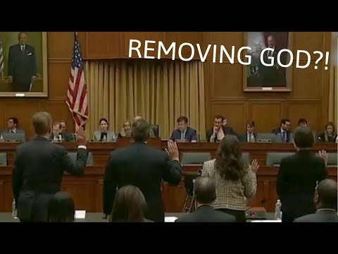 Watch How Congressmen Throw GOD Out of the Court!