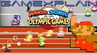 Retro Mode Revealed in Mario & Sonic 2020 Olympics + Gameplay!  (8-Bit & 16-Bit!)