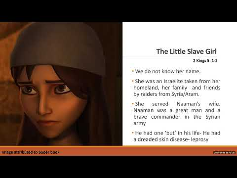 The Little Slave Girl (Fit for Purpose) - The Elevation Church Preteens Service - July, 18th, 2021