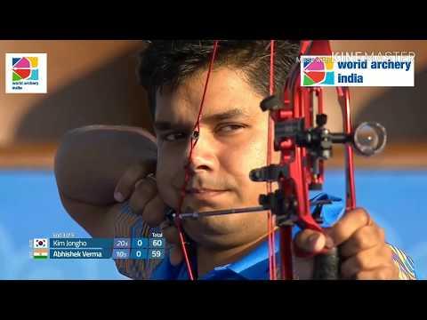 Abhishek Verma v Kim Jongho - World Cup Final 2018 - Samsun, Turkey