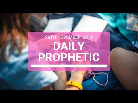 Daily Prophetic 28 November Word 2