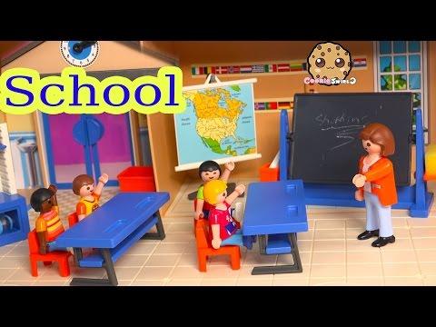 Playmobil Back To School Classroom Playset with Teacher & Shopkins Season 3 Blind Bag Unboxing - UCelMeixAOTs2OQAAi9wU8-g