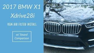 Cambio filtro aria motore BMW X1 F48 da 2015