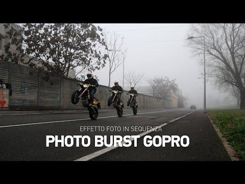 GoPro Burst Tutorial, come creare l'effetto foto in sequenza con smartphone