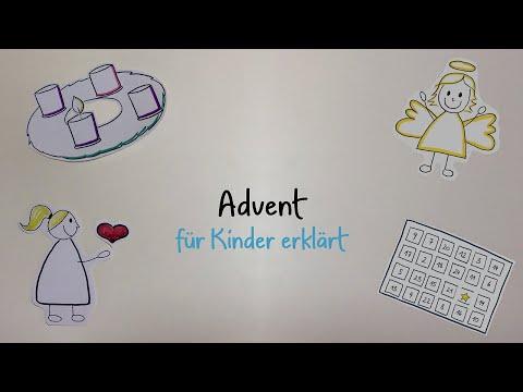 Advent für Kinder erklärt