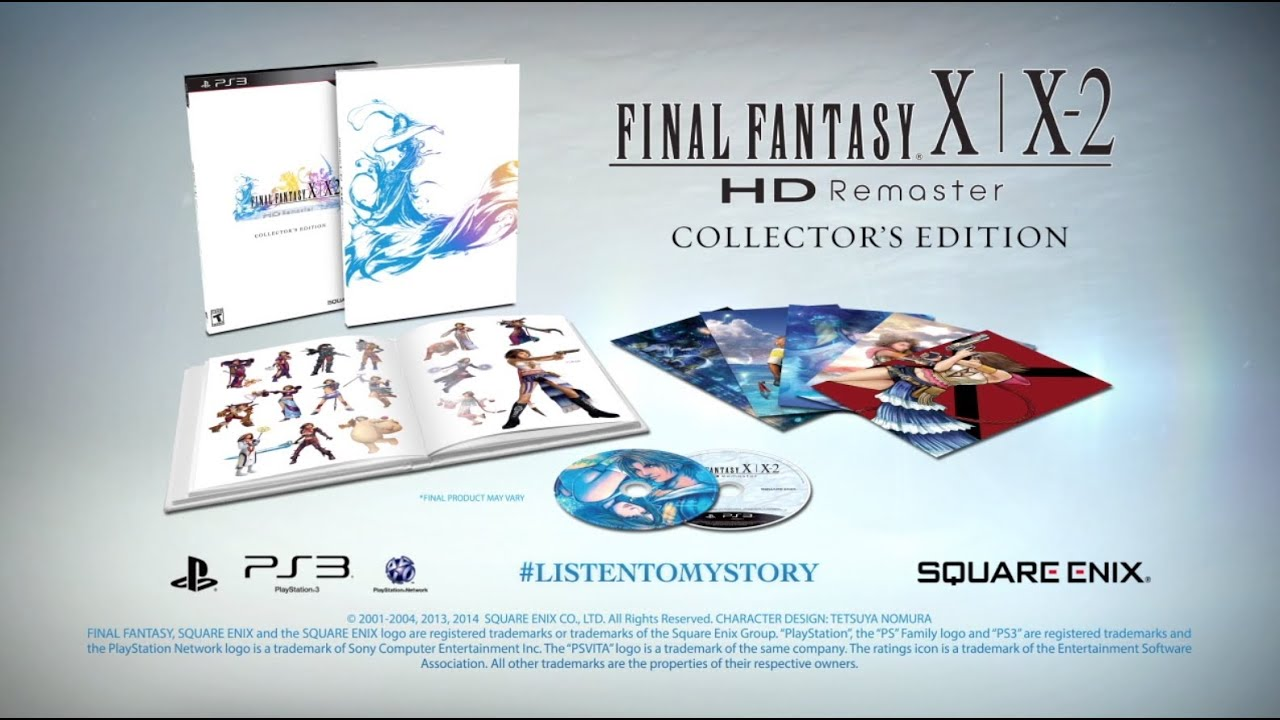Image ffx-x-2 hd limited edition. Jpg | final fantasy wiki.