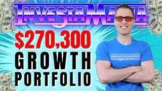 My $270,300 Growth Stocks Portfolio