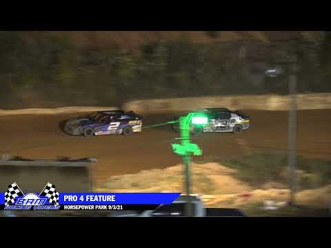 Pro 4 Feature - HorsePower Park 9/3/21 - dirt track racing video image