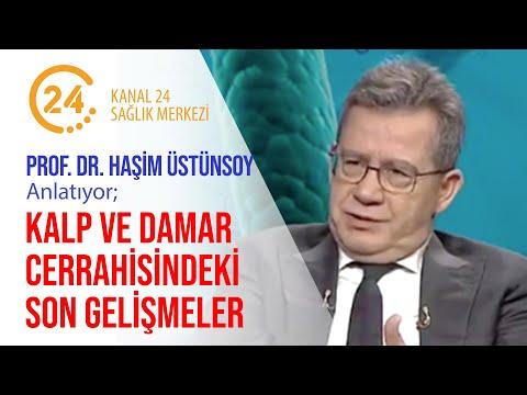 Prof. Dr. Haşim Üstünsoy Kalp ve Damar Cerrahisindeki Son Gelişmeler - Kanal 24 Sağlık Merkezi