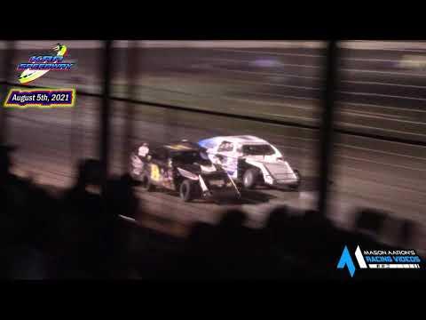 KRA Speedway WISSOTA Mod 4 A-Main (8/5/21) - dirt track racing video image