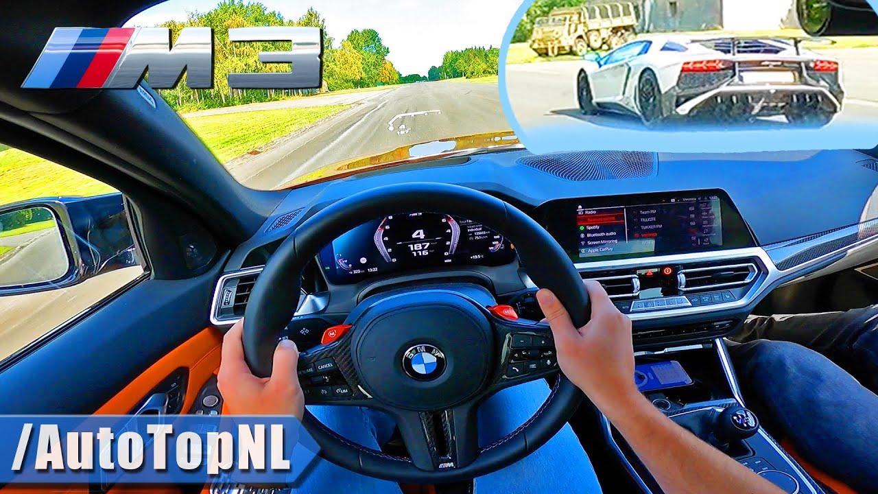 BMW M3 G80 6MT @RaceChip | 1/4 MILE DRAG RACES by AutoTopNL
