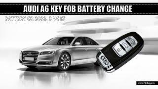 Cambio pila telecomando Audi A6 C7