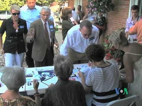 Bầu cử theo thể thức caucus tại Iowa (VOA)