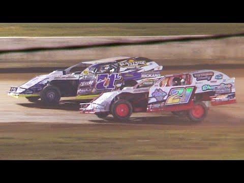 Econo Mod Feature | Eriez Speedway | 7-4-21 - dirt track racing video image