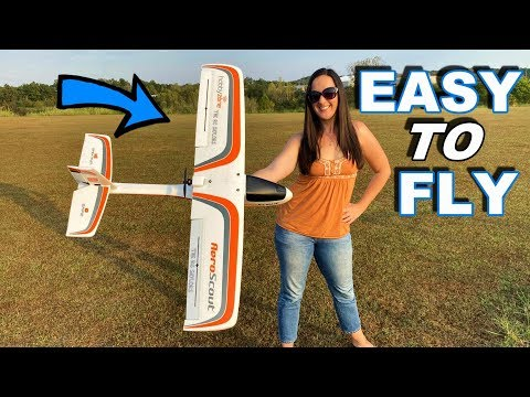 RC SMART Plane - Easy to Fly Beginner Airplane - Aeroscout S - TheRcSaylors - UCYWhRC3xtD_acDIZdr53huA