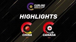 HIGHLIGHTS: China v Canada - Men - Curling World Cup Grand Final - Beijing, China