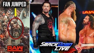 A Tragedy Happened Raw Attendance - Roman's Attacker to Revealed | WWE Smackdown 20 August 2019