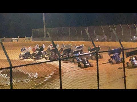7/31/2021 Carolina Sprint Tour Harris Speedway - dirt track racing video image