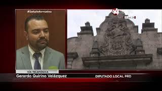 Gerardo Quirino Velázquez: iniciativa para que delitos de corrupción por funcionarios no prescriban.