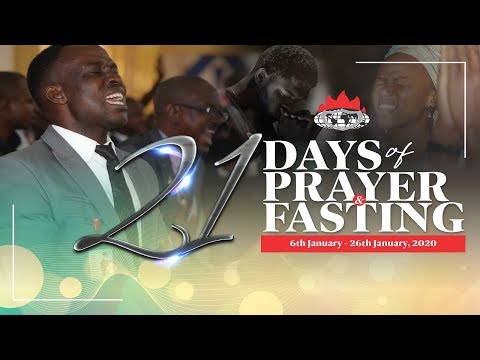 DAY 17: PRAYER AND FASTING GATEWAY TO BREAKING LIMITS - JANUARY 22, 2020