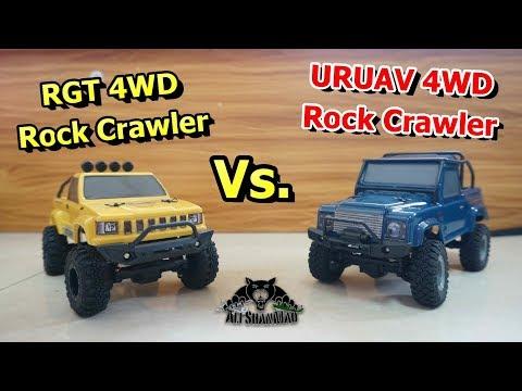 Mini 4WD Electric 1/24 scale RC Rock Crawlers URUAV Vs RGT - UCsFctXdFnbeoKpLefdEloEQ