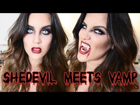 Halloween Look: SheDevil Meets Vamp - UCz0Qnv6KczUe3NH1wnpmqhA