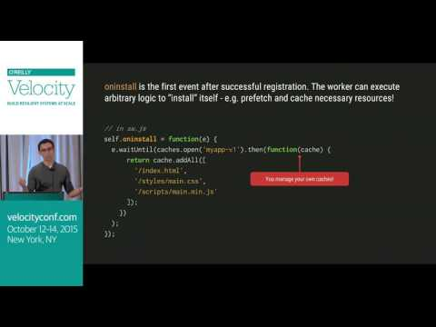 There is a client-side proxy (ServiceWorker) in your browser! - Velocity NYC 2015 - default