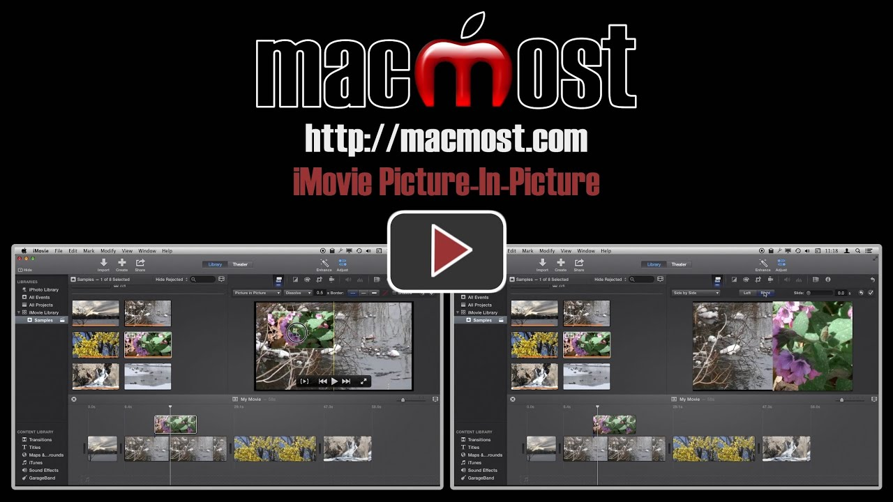 iMovie Picture-In-Picture - MacMost